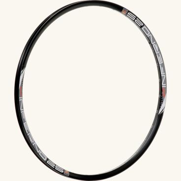 Обод 26, 32h, SunRingle Inferno 25 Sleeved W/E, черный, K16E14P13605CОбода<br>Лёгкий и жёсткий обод SunRingle для кросс-кантри и трейлрайдинга. Изготовлен из алюминиевого сплава и подходит только для использования с дисковыми тормозами.<br> <br>ОСОБЕННОСТИ<br>Материал: алюминиевый сплав<br>Клёпаный шов<br>Пистонированный<br>Подходит только для использования с дисковыми тормозами<br>Размер: 26 дюймов<br>Ширина: 25мм<br>Высота: 19мм<br>Количество отверстий для спиц: 32<br>