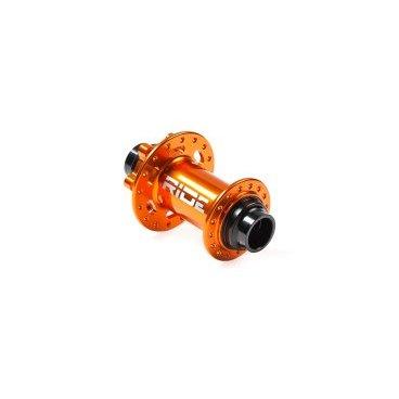 Втулка передняя RIDE Enduro, 15/20 32h 20 мм, оранжевый, RFE32-15/20ORВтулки для велосипеда<br>Высококачественная передняя втулка, рассчитанная на установку вставной 20-миллиметровой оси. Корпус изготовлен из алюминиевого сплава марки 7075; два закрытых подшипника обеспечивают втулке надёжность и долгую жизнь. Отдельно можно приобрести адаптеры для установки 15-миллиметровой оси.<br><br><br><br>ОСОБЕННОСТИ<br><br><br><br>Материал корпуса и оси: алюминиевый сплав марки 7075<br><br>Два закрытых подшипника<br><br>Диаметр оси: 20мм<br><br>Количество отверстий для спиц: 32<br><br>Цвет: оранжевый<br><br>Вес: 161 грамм<br>