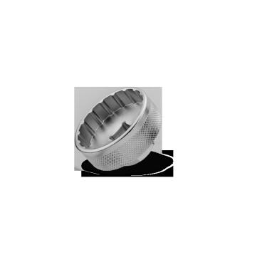 Съёмник каретки Birzman Hollowtech II, BM13-ABB-SВелоинструменты<br>Съёмник для чашек каретки с внешними подшипниками. Представляет собой кованую стальную насадку для стандартного торцевого ключа.<br><br><br><br><br>Диаметр: ~45 мм<br>
