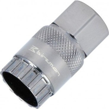 Съёмник кассеты Birzman Shimano Freewheel Remover for campy, BM08-RWH-CCВелоинструменты<br>Инструмент для снятия и установки кассеты Compagnolo. Под ключ 21 мм<br>