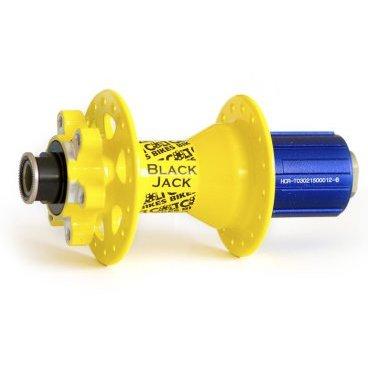 Втулка задняя Colt Bikes Black Jack, 135x10 thru, 32H, желтый, CB-D882SB-10-A4A-14YELВтулки для велосипеда<br>Новая втулка Black Jack от Colt Bikes. Крепкий корпус и простая конструкция храповика делают ее невероятно прочной и надежной. Конвертируется в 142х12 (конвертер продается отдельно).<br><br>Характеристики:<br><br>Материал: фрезерованный алюминий<br>Подшипники: 4 закрытых промышленных<br>Барабан: алюминиевый<br>Размер: 135х10 мм<br>Кол-во отверстий: 32<br>Крепление тормозного диска: 6 болтов<br>Вес: 310 грамм<br>