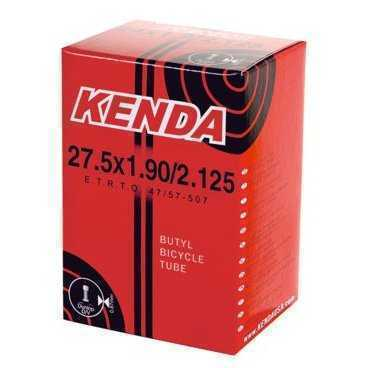 Велокамера KENDA SUPERLITE 27.5, 1.9-2.125 (50/57-584), суперлегкая, спортниппель 48 мм, 5-515241Камеры для велосипеда<br>Камера Super Lite – качественная и легкая камера для любителей и профи. Толщина стенки - 0,73 мм. Преста (вело).<br><br>Категория:MTB<br>Размер:1.9/2.125<br>Вес (г):165<br>Диаметр в дюймах:27.5<br>
