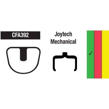 Тормозные колодки EBC Joytech, зеленый, CFA392Тормоза на велосипед<br>Колодки широкого предназначения. Подходят для повседневного катания, туризма и кросс-кантри. Если вы не можете определиться с выбором колодок – то данный тип будет оптимальным в вашем случае. Сбалансированные показатели долговечности и мощности торможения.<br>