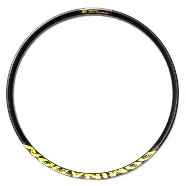 Обод Colt Bikes 27,5 584x25 DOMINATION SL 32H, черно-желтый, 3182q32RB0YellowОбода<br>Обновленная версия популярного обода COLT Domination. Одинарное пистонирование, вес снижен на 25%. <br><br>Вес: 505г <br>ERD: 568 <br>ETRTO: 584x25C <br>Ниппель: Presta <br>Максимальное давление: 2.1 - 3,9атм / 2.4 - 2,5атм <br>Максимальный вес райдера: 100кг<br>
