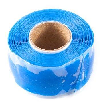 Защитная силиконовая лента ESI Silicon Tape, 10 (3 м), синий, TR1BUРучки и Рога<br>Силиконовая защитная лента для рамы, руля и других компонентов велосипеда.<br><br>Легко устанавливается, самоклеющаяся, не содержит клеящих веществ и не оставляет следов, устойчива к УФ-излучению. Применяется в качестве защиты пера рамы от ударов цепи, а также защищает руль и вынос при установке на них креплений для света, камеры, GPS и так далее. <br><br>Снимите защитную пленку с одной стороны ленты и убедитесь, что обе ее стороны на ощупь абсолютно одинаковые. Никакого клея, только гладкий и липкий силикон. Лента надежно клеится сама к себе, при этом не оставляя никаких следов на раме и руле вашего велосипеда. Просто намотайте силиконовую ленту под крепление для света/камеры/GPS, чтобы исключить проворачивание крепления и предохранить руль и раму от появления царапин и потертостей. Может использоваться в качестве защиты пера.<br>