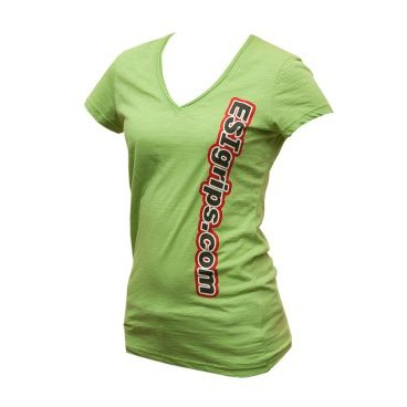 Велофутболка ESI Womens T-Shirts, зеленыйВелофутболка<br>Футболка женская с логотипом ESI<br>