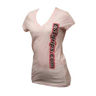 Велофутболка ESI Womens T-Shirts, розовыйВелофутболка<br>Футболка женская с логотипом ESI<br>
