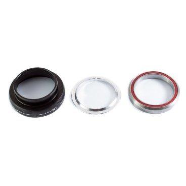 Рулевая колонка низ Colt Bikes EC49/40, Черный, CB-WZ4109Рули<br>Описание Рулевая колонка ColtBikes Spirit нижняя часть. <br><br>Стандарт: External Cup (EC) - внешние чашки <br>Промышленные подшипники из нержавеющей стали <br>Влагозащитные уплотнители <br>Алюминиевое упорное кольцо <br>Алюминиевая анодированная чашка<br>