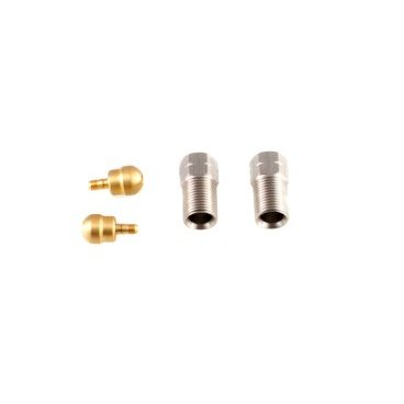 Комплект фитингов A2Z для Shimano, Avid Code, Hayes Stroker/Ryde,, 5.0 мм, HP-HH50Тормоза на велосипед<br>Комплект фитингов A2Z для гидролинии D 5,0 мм<br>