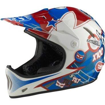 Велошлем KALI Avatar, сине-красныйВелошлемы<br>AVATAR™ Чертовски легкий фуллфейс! Что еще более интересно, как при таком весе, он может быть безумно прочным! Корпус шлема сочетает в себе карбон, кевлар и углепластик.<br>В шлеме используется технология COMPOSITE FUSION™- корпус и пена составляют единое целое, позволяя добиться максимальной прочности при минимальном весе.<br><br>ТЕХНОЛОГИИ:<br>Composite Fusion<br>Pop-Out<br><br>МАТЕРИАЛЫ:<br>Fiberglass<br><br>ОСОБЕННОСТИ:<br>Отлично совмещается с защитой шеи<br>Трехслойная оболочка из карбона кевлара и стекловолокна<br>COMPOSITE FUSION™<br>Пена EPS малой плотности<br>Встроенная система вентиляции<br>Съемные мягкие подкладки<br>Широкий обзор<br>Вес: 980г (размер М)<br>Сертификаты безопасности: EN 1078, CPSC<br>