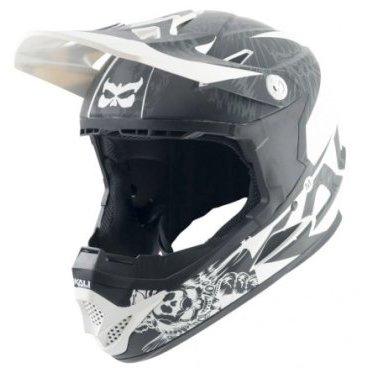 Велошлем Kali Naka Dark Sphinx, бело-черныйВелошлемы<br>Удобный и с отличной защитой, шлем Naka станет вашим проводником в мир даунхилла. <br><br>Корпус ABS <br>Пена EPS <br>Регулируемый козырек <br>Антибактериальные съемные подкладки <br>Сертификаты безопасности: ASTM F1952, ASTM 2032, EN 1078, CPSC <br>Вес: 950-1050г (в зависимости от размера)<br>