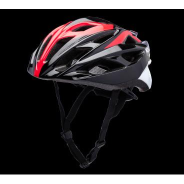 Велошлем KALI Ropa, черно-красныйВелошлемы<br>Легкий вентилируемый шоссейный шлем. <br><br>Composite Fusion <br>Антибактериальные подкладки <br>Регулировка размера Micro-Fit <br>Корпус PC <br>Пена EPS <br>24 вентиляционных отверстия <br>Вес: 250-270г <br>Сертификаты безопасности: 1078, CPSC<br>