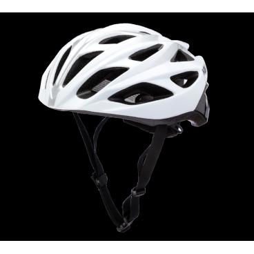 Велошлем KALI Ropa, черно-белыйВелошлемы<br>Легкий вентилируемый шоссейный шлем. <br><br>Composite Fusion <br>Антибактериальные подкладки <br>Регулировка размера Micro-Fit <br>Корпус PC <br>Пена EPS <br>24 вентиляционных отверстия <br>Вес: 250-270г <br>Сертификаты безопасности: 1078, CPSC<br>