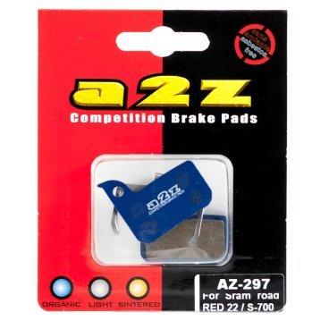 Тормозные колодки A2Z Avid road RED 22/S-700, синий, AZ-297Тормоза на велосипед<br>A2Z - небольшой тайваньский завод по производству велосипедных запчастей, специализируется на выпуске высококачественных компонентов, легких втулок, тормозных дисков, титановых эксцентриков и других деталей. <br><br>    Превосходные тормозные свойства колодок уменьшают тормозной путь<br>    Высокоэффективный состав увеличивает мощность при любых погодных условиях<br>    Все тормозные колодки A2Z сделаны из органических соединений и не содержат асбеста <br><br>Виды тормозных колодок A2Z: <br> - Blue (organic) - высокоэффективные органические колодки, на 110%* выше мощность и на 150%* дольше срок службы <br><br>* - по сравнению со стоковыми колодками.<br>