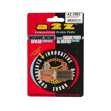 Тормозные колодки A2Z Avid Elixir XX, золотистый, AZ-296SТормоза на велосипед<br>A2Z - небольшой тайваньский завод по производству велосипедных запчастей, специализируется на выпуске высококачественных компонентов, легких втулок, тормозных дисков, титановых эксцентриков и других деталей.<br><br>    Превосходные тормозные свойства колодок уменьшают тормозной путь<br>    Высокоэффективный состав увеличивает мощность при любых погодных условиях<br>    Все тормозные колодки A2Z сделаны из органических соединений и не содержат асбеста<br><br>Виды тормозных колодок A2Z:<br>- Gold (Sintered) - высокоэффективные метализированные колодки, служат на 300%* больше <br><br>*по сравнению со стоковыми колодками<br>