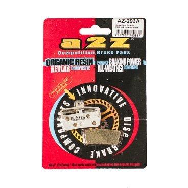 Тормозные колодки A2Z, AZ, Avid X0 Trail, 4-Piston, серебристый, AZ-293AТормоза на велосипед<br>A2Z - небольшой тайваньский завод по производству велосипедных запчастей, специализируется на выпуске высококачественных компонентов, легких втулок, тормозных дисков, титановых эксцентриков и других деталей.<br><br>    Превосходные тормозные свойства колодок уменьшают тормозной путь<br>    Высокоэффективный состав увеличивает мощность при любых погодных условиях<br>    Все тормозные колодки A2Z сделаны из органических соединений и не содержат асбеста<br><br>Виды тормозных колодок A2Z:<br>- Blue (organic) - высокоэффективные органические колодки, на 110%* выше мощность и на 150%* дольше срок службы<br>- Silver (organic) - высокоэффективные органические колодки на алюминиевой подложке, легче колодок Blue на 50%<br>- Gold (Sintered) - высокоэффективные метализированные колодки, служат на 300%* больше<br><br>*по сравнению со стоковыми колодками<br>