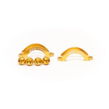 Хомут A2Z, для тормозов Avid Elixir/DB3/CODE/Giant/Quad, M5 болт, алюминий, золотистый, LC-L5-6Тормоза на велосипед<br>Облегченные алюминиевые хомуты A2Z в комплекте с болтами.<br><br>    Кованный алюминий<br>    100% CNC<br>    Вес: 5г пара !<br>