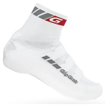 Велобахилы GripGrab Cover Sock, отверстия под шипы, эластичный манжет, белыйВелообувь<br>GripGrab Cover Socks<br>Бахилы-носки предназначены для защиты ног от холодного ветра в межсезонье. Спортивный обтекающий вид, они также отлично защищают от пападния песка через вентиляционные отверстия в обуви. Совместимы с большинством контактных педалей.<br><br>Особенности<br>Спортивный вид<br>Эластичная манжета<br>Отверстия под шипы<br><br>Уход <br>Машинная стирка с такими же цветами. Не отбеливать. Не сушить в стиральной машине. <br>Не гладить. Не подвергать химической чистке. Не отжимать. <br><br>Материалы <br>55% Полипропилен <br>40% Нейлон <br>5% Полиуретан<br><br>Размеры: S (38-39), M (40-41), L (42-43)<br>