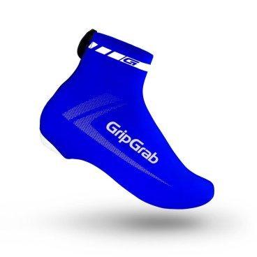 Велобахилы GripGrab RaceAero, полиамид/эластан, синийВелообувь<br>RaceAero от GripGrab бахилы сделанные из качественного спандекса, обеспечивают максимальную аэродинамику и защищают вашу обувь от грязи и от проникновения камней. Яркий дизайн обеспечит хорошую видимость на дороге.<br><br>Особенности:<br>Эластичная лайкра<br>YKK® технология<br>Отверстие для контактных педалей <br><br>Уход <br>Машинная стирка с такими же цветами. Не отбеливать. Не сушить в стиральной машине. <br>Не гладить. Не подвергать химической чистке. Не отжимать. <br><br>Материалы <br>85% Полиамид<br>15% Эластан<br><br>Размеры: S (38-39), M (40-41), L (42-43), XL (44-45), 2XL (46-47), 3XL (48-49)<br>
