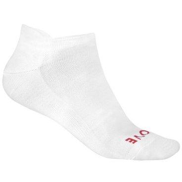 Велоноски GripGrab Summer Sock, безшовные, сетчатая вставка, белыйВелоноски<br>NoShow легкие удобные носки с сеткой Coolmax. Идеально подойдут для жаркой погоды и для занятий в зале. Носки прекрасно дышат благодаря открытой сетке, а также оснащены компрессионной резинкой для поддержки ахиллова сухожилия.<br><br>Уход<br>Машинная стирка с такими же цветами. Не использовать отбеливатель, не сушить в стиральной машине. Не гладить, не подвергать химическое чистке, не отжимать.<br><br>Материалы<br>40% Полиэстер<br>30% Нейлон<br>20% Полиуретан<br>10% Эластан <br><br>Размер L (44-47)<br>Размер M (41-44)<br>Размер S (38-41)<br>
