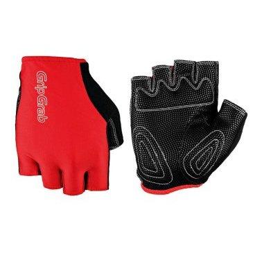 Велоперчатки GripGrab Short X-Trainer, смягчающие накладки, эластичная лайкра, красныйВелоперчатки<br>GripGrab X-Trainer<br>Качественные недорогие перчатки отлично садятся на любую руку. Легкие материалы, пеновые подкладки и эластичная манжета делают их надежными и неприхотливыми.<br><br>Особенности<br>Смягчающие накладки<br>Pull-off - эластичная манжета<br>Эластичный верх из лайкры<br>gMagnets - перчатки легко хранить парой<br>Светоотражающие логотипы <br><br><br>Уход<br>Машинная стирка с такими же цветами. Не отбеливать. Не сушить в стиральной машине. <br>Не гладить. Не подвергать химической чистке. Не отжимать. <br><br>Материалы <br>46% Полиэстер <br>23% Нейлон <br>16% Полиуретан <br>15% Эластан&gt;<br>10% Эластан<br><br>Размер L,  M, S, XL, XXL<br>