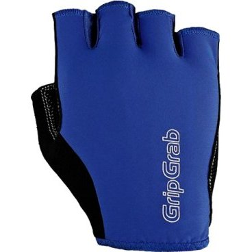 Велоперчатки GripGrab Short X-Trainer, смягчающие накладки, эластичная лайкра, синийВелоперчатки<br>GripGrab X-Trainer<br>Качественные недорогие перчатки отлично садятся на любую руку. Легкие материалы, пеновые подкладки и эластичная манжета делают их надежными и неприхотливыми.<br><br>Особенности<br>Смягчающие накладки<br>Pull-off - эластичная манжета<br>Эластичный верх из лайкры<br>gMagnets - перчатки легко хранить парой<br>Светоотражающие логотипы <br><br><br>Уход<br>Машинная стирка с такими же цветами. Не отбеливать. Не сушить в стиральной машине. <br>Не гладить. Не подвергать химической чистке. Не отжимать. <br><br>Материалы <br>46% Полиэстер <br>23% Нейлон <br>16% Полиуретан <br>15% Эластан&gt;<br>10% Эластан<br><br>Размер L,  M, S, XL, XXL<br>