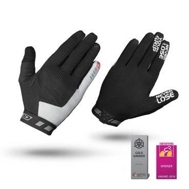 Велоперчатки GripGrab Vertical, силиконовые вставки, синтетическая замша, черныйВелоперчатки<br>Велоперчатки GripGrab Long Vertical 2017 предназначены для даунхилла и фрирайда. Их отличает оригинальная технология InsideGrip, которая предотвращает скольжения рук внутри перчаток и обеспечивает непревзойденную хватку и максимальный контроль при езде. Эластичные манжеты плотно облегают запястье. Дополнительная функция удаления пота. Светоотражающий логотип.<br><br>Особенности<br>Технология InsideGrip<br>Без подкладки<br>Силиконовые накладки под тормозные ручки<br>Функция удаления пота<br>Материал ладони: синтетическая замша<br>Сетчатые вставки на верхней стороне<br>Светоотражающий логотип<br><br><br>Уход<br>Машинная стирка с такими же цветами. Не отбеливать. Не сушить в стиральной машине. <br>Не гладить. Не подвергать химической чистке. Не отжимать.<br><br>Размер L,  M, S, XL, XXL<br>