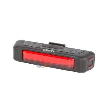 Фонарь 5-220438 30 диодов 30люмен/6 функций мини 32гLi-Pol АКБ USB-зарядка+кабель красный MIGHTYФары и фонари для велосипеда<br>NEW, светодиодный, 30 мини-диодов  повышенной яркости 30 люмен, дополнительная подсветка боковых граней, 6 функций, до 1,75-7 час, индикатор разряда, Li-Pol аккумулятор 500 mAh, с зарядкой от USB/сети, крепление на подседельный штырь + к направляющим седла, облегченный - всего 32 г, черный, инд. уп.<br>