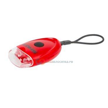 Фонарь брелок задний AUTHOR 2 диода/2функции A-Shot R красный с батареями 8-12039110Фары и фонари для велосипеда<br>Фонарь брелок задний AUTHOR 2 диода/2функции A-Shot R красный с батареями   <br>- светодиодный, 2 диода повышенной яркости, 2 функции <br>- до 60/30 час, красный, с батареями <br>- универсальное использование, крепление на подседельный штырь, перо рамы, шлем, одежду; блистер <br>Артикул 8-12039110<br>