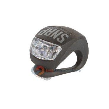 Фонарь AUTHOR брелок задний 2 диода повышенной яркости A-SNAP R черный с батареями 8-12039113Фары и фонари для велосипеда<br>Фонарь AUTHOR брелок задний 2 диода повышенной яркости A-SNAP R красный с батареями   <br>- мини, светодиодный, 2 диода повышенной яркости, с линзами, 2 функции <br>- до 160/35 час, светит красным, с батареями <br>- оригинальный черный прорезиненный корпус <br>- универсальное крепление резиновым жгутом без инструмента на подседельный штырь, раму; блистер <br>Артикул 8-12039113<br>