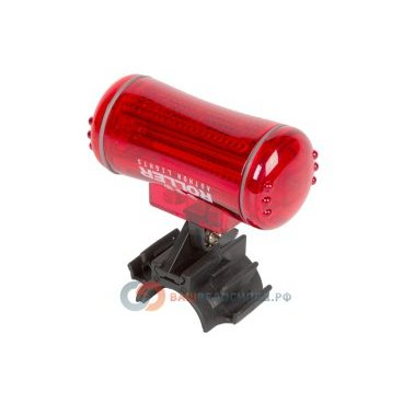 Фонарь задний AUTHOR 5 диодов/3 функции A-Roller R красный 8-12039125Фары и фонари для велосипеда<br>Фонарь задний AUTHOR 5 диодов/3 функции A-Roller R красный  <br>- светодиодный,  5 диодов повышенной яркости, 3 функции <br>- до 100/50 час; красный, цилиндрический <br>- крепление на подседельный штырь резиновым жгутом без инструмента, блистер <br>Артикул 8-12039125<br>