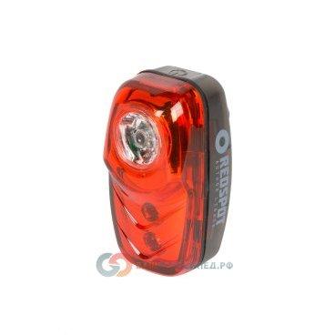 Фонарь задний AUTHOR A-RedSpot 3 диода 0,5 W с батареями 8-12039129Фары и фонари для велосипеда<br>Фонарь задний AUTHOR A-RedSpot 2 диода 0,5 W с батареями <br>- светодиодный, 3 диода, в том числе 1 диод повышенной яркости 0.5 W, 2 функции <br>- до 80/18час, с батареями, красный <br>- влагозащитный корпус<br>- вращающееся крепление на подседельный штырь без инструмента, блистер <br>Артикул 8-12039129<br>