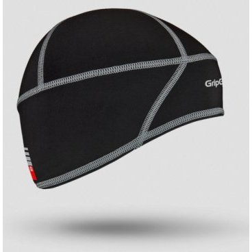 Шапка GripGrab Skull Cap, чернаяБандана<br>Шапка GripGrab Skull Cap Windster мягкая, легкая и теплая. Для защиты ушей, лба, Идеально подходит для использования под шлемом. Мультиспортивная, для езды на велосипеде, бега и других видов деятельности в холодных условиях.<br><br>Размер S<br>