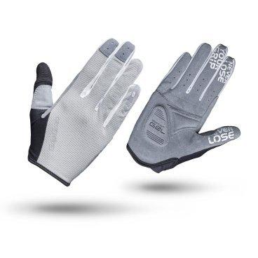 Велоперчатки женские GripGrab Shark, серыйВелоперчатки<br>Велоперчатки GripGrab Long Shark разработаны для женщин и являются отличным выбором для райдеров всех уровней. Ладони изготовлены из синтетической замши с технологией DoctorGel 4 мм, что обеспечивает отличное сцепление и комфорт райдеру. Slip-in манжеты позволяют легко одевать и снимать перчатки. Светоотражающие логотипы дают дополнительную безопасность при условиях низкой освещенности.<br><br>Особенности<br>Технология DoctorGel 4 мм<br>Функция удаления пота<br>Силиконовые накладки под тормозные ручки<br>Материал ладони: синтетическая замша<br>Прочный сетчатый материал на верхней стороне<br>Светоотражающий логотип<br>Slip-in манжеты<br><br><br>Размер перчаток XS, S, M, L <br><br>Уход<br>Машинная стирка с такими же цветами. Не отбеливать. Не сушить в стиральной машине. <br>Не гладить. Не подвергать химической чистке. Не отжимать. <br><br>Материалы<br>70% Полиамид<br>20% Полиуретан<br>10% Эластан<br>