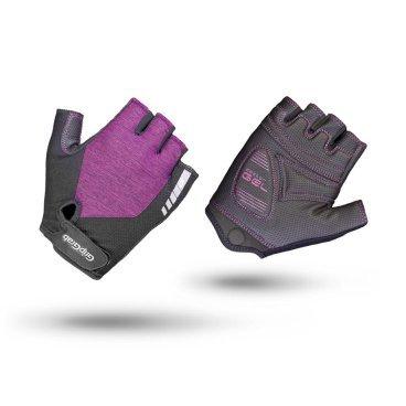 Велоперчатки женские короткие GripGrab ProGel, гелевые вставки, удаление пота, лайкра, фиолетовыйВелоперчатки<br>Велоперчатки GripGrab Short ProGel являются одними из самых удобных перчаток для женщин. Обеспечивают высокий комфорт, сцепление или стиль. Выполнены из легкого и эластичного материала. Они дают максимальную свободу движения, а благодаря технологии DoctorGel 4 мм обеспечивают отличное сцепление. Дополнительная функция удаления пота. Светоотражающий логотип для безопасности в условиях низкой освещенности. Благодаря технологии gMagnets вы не потеряете одну перчатку.<br><br>Особенности<br>Технология DoctorGel 4 мм<br>Функция удаления пота<br>Система снятия Pull-off<br>Grippy Serino ладони<br>Эластичная лайкра на верхней стороне<br>Технология gMagnets - легко хранить перчатки парой<br>Светоотражающий логотип<br><br><br>Размер перчаток XS, S, M, L <br><br>Уход<br>Машинная стирка с такими же цветами. Не отбеливать. Не сушить в стиральной машине. <br>Не гладить. Не подвергать химической чистке. Не отжимать. <br><br>Материалы<br>40% Полиэстер <br>30% Полиамид<br>20% Полиуретан<br>10% Эластан<br>