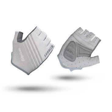 Велоперчатки женские короткие GripGrab Solara, гелевые накладки, полиэстер, белыйВелоперчатки<br>Велоперчатки женские GripGrab Short Solara - это супер легкие и дышащие перчатки с идеальным балансом между комфортом и контролем. Обеспечивают максимальную свободу движения вместе с отличным сцеплением благодаря технологии DoctorGel 4 мм. Выполнены из легких, эластичных материалов. Имеют превосходную посадку, разработанную специально для женщин. Slip-in манжеты позволяют легко одевать и снимать перчатки. Светоотражающие логотипы улучшают видимость в условиях низкой освещенности. <br><br>Особенности<br>Верх изготовлен из материала, пропускающий солнечный свет<br>Гелевые накладки DoctorGel 4 мм<br>Светоотражающий логотип<br>Система снятия Pull-off<br>Материал ладони: AX замша<br>Slip-in манжеты<br><br>Размер перчаток XS, S, M, L <br><br>Уход<br>Машинная стирка с такими же цветами. Не отбеливать. Не сушить в стиральной машине. <br>Не гладить. Не подвергать химической чистке. Не отжимать. <br><br>Материалы<br>90% Полиэстер<br>5% Полиамид<br>5% Эластан<br>
