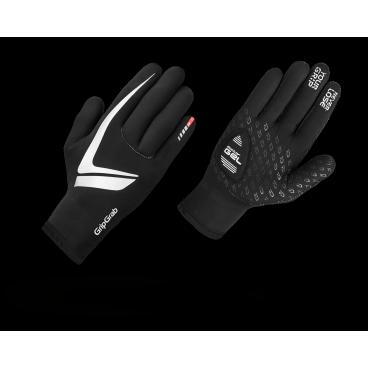 Велоперчатки зимние GripGrab Neoprene glove Gloves, ветро- влагозащита, черныйВелоперчатки<br>Перчатки из 3мм неопрена идеальны для мокрой погоды. Они не промокают и отлично сохраняют тепло. Неопрен - тянущийся материал, перчатки лучше садятся по руке. Силиконовые накладки добавляют удобства. 4мм подушки DoctorGel™ смягчают вибрации, ваши руки меньше устают. Перчатки действуют как гидрокостюм, удерживают влагу и сохраняют тепло внутри. <br>Не забудьте просушить перчатки снаружи и изнутри, после длительного заплыва.<br><br>    Комфортная температура от 0 °C до +10 °C<br>    Непродуваемые<br>    Водоотталкивающие<br>    Дышащие<br>    Отличное сцепление<br>    Износостойкая ладонь<br><br>Размер перчаток XS, S, M, L, XL, XXL <br><br>Уход<br>Машинная стирка с такими же цветами. Не отбеливать. Не сушить в стиральной машине. <br>Не гладить. Не подвергать химической чистке. Не отжимать.<br><br>Материалы <br>80% Неопрен<br>15% Нейлон<br>5% Лайкра<br>