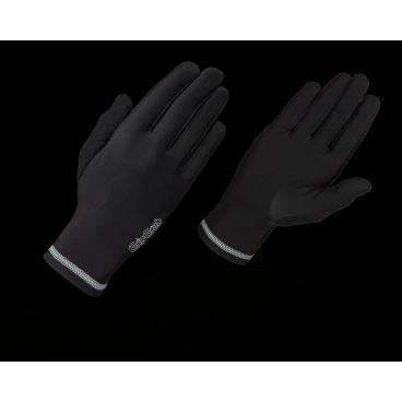 Велоперчатки зимние GripGrab Running Basic, дышащие,черныйВелоперчатки<br>Классические зимние перчатки для бега GripGrab Running Basic. Минималистичный дизайн, перчатки прекрасно сочетают необходимую воздухопроницаемость и теплоизоляцию, что бы ваши руки были в комфорте.<br><br>    Комфортная температура от -5 °C до + 5 °C<br>    Дышащие<br>    Светоотражающие логотипы<br><br>Размер перчаток XS, S, M, L, XL, XXL <br><br>Уход<br>Машинная стирка с вещами такого же цвета. Не использовать отбеливатель. Не сушить в стиральной машине. Не подвергать химчистке. Не отжимать. Не гладить.<br>