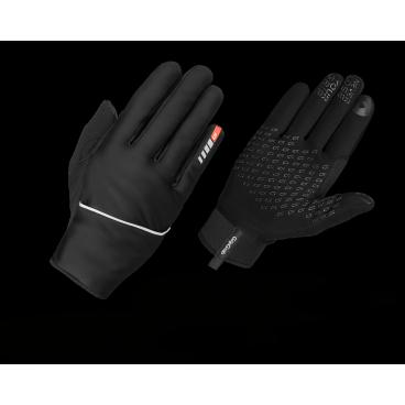 Велоперчатки зимние GripGrab Running Thermo, ветрозащита, силиконовые вставки, черный,Велоперчатки<br>Теплые ветрозащитные перчатки для бега GripGrab Running Thermo. Ветрозащитные чехлы быстро одеваются или убираются в специальный карман. Модель выделяют силиконовые вставки, вшитый платок и работа с сенсорными экранами.<br>GripGrab Running Thermo сочетает в себе новые технологии с качественными материалами. Ветрозащитный чехол дает дополнительную защиту от пронизывающего ветра.<br><br>    Комфортная температура от -10 °C до +5 °C<br>    Ветрозащитный чехол<br>    Изоляционная прокладка<br>    Силиконовые вставки<br>    Светоотражающие логотипы<br>    Работают с сенсорными экранами<br><br>Размер XS, S, M, L, XL. XXL<br><br>Уход<br>Машинная стирка в режиме Ручная стирка, температура 30°С. Не сушить в стиральной машине. Не отжимать. Не гладить<br>