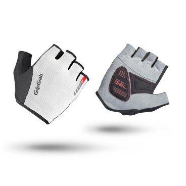 Велоперчатки короткие GripGrab EasyRider, удаление пота, синтетическая замша, белыйВелоперчатки<br>Велоперчатки GripGrab Short EasyRider являются отличным выбором для велоотдыха, шоссе и MTB. Прочные замшевые ладони и эластичные сетчатые вставки на верхней стороне обеспечивают комфорт во время езды. Гелевые вставки DoctorGel 4 мм® уменьшают усталость и онемение рук во время езды. Slip-in манжеты позволяют легко одевать и снимать перчатки.<br><br>Особенности<br>Технология DoctorGel 4 мм<br>Функция удаления пота<br>Система снятия Pull-off<br>Материал ладони: синтетическая замша<br>Прочный сетчатый материал на верхней стороне<br>Светоотражающий логотип<br>Slip-in манжеты<br><br>Размер XS, S, M, L, XL, XXL<br><br>Уход<br>Машинная стирка с такими же цветами. Не отбеливать. Не сушить в стиральной машине. <br>Не гладить. Не подвергать химической чистке. Не отжимать. <br><br>Материалы<br>70% Полиамид<br>20% Полиуретан<br>10% Эластан<br>