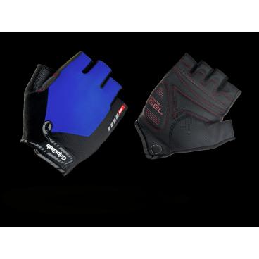 Велоперчатки короткие GripGrab ProGel, синтетисческая кожа, гелевые накладки, синийВелоперчатки<br>GripGrab ProGel<br>Наиболее комфортные перчатки без пальцев. Сделаны из легких эластичных материалов, отлично сидят по руке не стесняя движений. Гелевые накладки DoctorGel толщиной 4мм препятствуют уставанию и онемению кистей рук.<br><br>Осбенности<br>Гелевые накладки DoctorGel 4мм<br>Pull-off - перчатки удобно снимать<br>Отличное сцепление<br>Эластичный верх из лайкры<br>gMagnets - перчатки удобно хранить парой<br>Светоотражающие логотипы <br><br>Размер XS, S, M, L, XL, XXL<br><br>Уход<br>Машинная стирка С такими же цветами. Не отбеливать. Не сушить в стиральной машине. <br>Не гладить. Не подвергать химической чистке. Не отжимать. <br><br>Материалы<br>40% Полиэстер<br>30% Нейлон<br>20% Полиуретан<br>10% Эластан<br>
