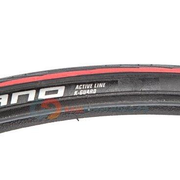Шоссейная покрышка Schwalbe Lugano 700x23C, черная-красная, 11101012VВелопокрышки<br>Самая простая, но добротная шина для шоссе от Schwalbe. Новый протектор! Предсказуемое поведение на трассе и вполне приемлемая цена.<br><br>Размеры: 700x23C (23-622)<br>Профиль: HS471<br>Цвет: Черный с красными полосами<br>Материал: Silica/ Active<br>Назначение: Шоссе<br>Каркас: Проволочный<br>Боковина: Lite<br>Защита: Kevlar Guard<br>Вес: 325 гр.<br>Макс. нагрузка: 65 кг (на одно колесо)<br>Оценка по скоростным характеристикам: 3 из 6<br>Оценка по сцеплению: 3 из 6<br>Оценка по защите от проколов: 3 из 6<br>Оценка по сроку службы: 3 из 6<br>Рекомендуемое давление в шинах: 6.0-9.0 Bar<br>