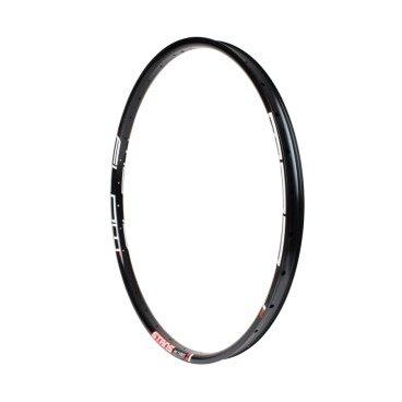 Обод 26 Stans NoTubes ZTR Flow MK3, 32H, черный, наклейка белый/красный 485C, RTFT60003Обода<br>Flow MK3 шире жестче прочнее и легче. Легендарный обод в истории Кубков Мира по даунхиллу теперь имеет «Правильную ширину» (WideRight) 29мм между внутренними стенками, обеспечивая высокую стабильность покрышки на любой скорости. Обновленный профиль, более жесткие и прочные боковые стенки, новый сплав и инновационная технология BST. Flow Mk3 побил сам себя. <br><br>Особенности:<br>Внутренняя ширина 29мм<br>Установка покрышки до 2.8<br>Низкий профиль боковых стенок для наката и надежности<br>Легче предыдущего поколения Flow EX<br>Более прочный сплав и новый профиль<br>Прочнее и жестче на 25%<br>Один из самых прочных и легких ободов из алюминия<br>Легкая установка и эксплуатация с бескамерными покрышками<br>Фирменный профиль BST<br><br>Спецификация:<br>Диаметр: 26<br>Внутренняя ширина: 29мм        <br>Внешняя ширина: 32,3мм        <br>Высота: 16мм        <br>Кол-во спиц:  32H        <br>Материал: Alloy 6069        <br>Вес: 459г<br>ERD: 542мм<br>ETRTO: 559x29.0<br>ISO: 26x32,3мм <br>Желтая лента: 30мм        <br>Ниппель: 35мм Presta        <br>Натяжение спиц: 125kgf (1225N)        <br>Вес райдера:<br>