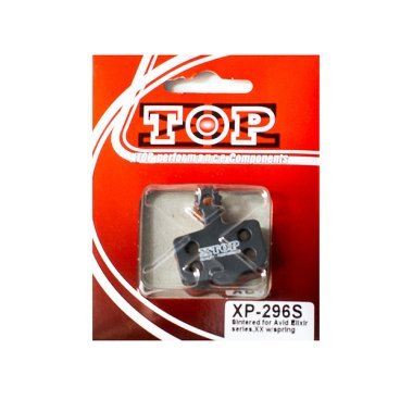 Тормозные колодки X-Top Avid Elixir, XX, Gold, XP-296SТормоза на велосипед<br>Качественные недорогие колодки, обеспечивают уверенное торможение и низкий уровень шума. <br><br><br>Gold (Sintered) - металлизированные колодки, увеличенный ресурс и быстрое охлаждение (средний срок службы 2 сезона). Диск должен быть предназначен для использования с металлизированными колодками.<br>
