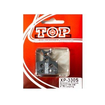Тормозные колодки X-Top Formula Mega &amp; THE ONE/R1/RX, Gold, XP-330SТормоза на велосипед<br>Качественные недорогие колодки, обеспечивают уверенное торможение и низкий уровень шума. <br><br><br>Gold (Sintered) - металлизированные колодки, увеличенный ресурс и быстрое охлаждение (средний срок службы 2 сезона)<br>