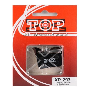 Тормозные колодки X-Top Sram Red road hydraulic brake, Gold, XP-297SТормоза на велосипед<br>Качественные недорогие колодки, обеспечивают уверенное торможение и низкий уровень шума. <br><br><br>Gold (Sintered) - металлизированные колодки, увеличенный ресурс и быстрое охлаждение (средний срок службы 2 сезона)<br>