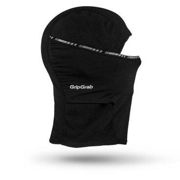 Балаклава GripGrab Balaclava, черныйБандана<br>GripGrab Balaclava<br>Идеально подходит для всех кто ценит свою безопасность и ездит в велошлеме круглый год. Подарит вам тепло и комфорт в самые суровые морозы. Шапка выполнена из 100% нейлона, легко стирается, имеет отличную эластичность. При этом внутренняя поверхность имеет мягкую флисовую накладку, что повышает комфорт при использовании. <br><br>Особенности <br>Проработанный крой<br>Дышащяя комфортная ткань<br><br>Уход<br>Машинная стирка с такими же цветами. Не отбеливать. Не сушить в стиральной машине. Не гладить. Не подвергать химической чистке. Не отжимать. <br><br>Материалы<br>94% Полиэстер<br>6% Эластан<br><br>Размеры: S (54-57см), M (57-60см), L (60-63см)<br>