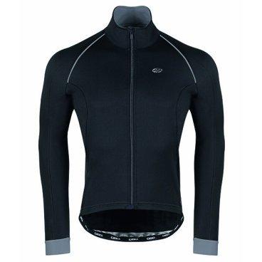 Велокуртка GSG Vars Winter Jacket, черный, 10095-03Велокуртка<br>Биластическая зимняя куртка, как легко переносит ветер, так и водонепроницаемая.<br>Этот тип материала предоставит вам свободу передвижения.<br>Внутренняя часть куртки предназначена для обеспечения лучшей воздухопроницаемости.<br>Есть 3 кармана, плюс застежка-молния с отверстием для наушников.<br>На внешней стороне есть также отражающий патч, чтобы обеспечить лучшую безопасность для велосипедиста.<br>Передняя молния имеет автоматический съемник для облегчения открытия и закрытия.<br><br><br>ТКАНИ: MIRAGE<br><br>ВЕС: 354gr<br>ВОДНЫЕ КОЛОНКИ:<br>