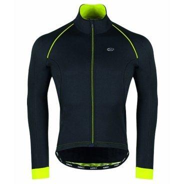 Велокуртка GSG Vars Winter Jacket, неоновый желтый, 10095-06Велокуртка<br>Биластическая зимняя куртка, как легко переносит ветер, так и водонепроницаемая.<br>Этот тип материала предоставит вам свободу передвижения.<br>Внутренняя часть куртки предназначена для обеспечения лучшей воздухопроницаемости.<br>Есть 3 кармана, плюс застежка-молния с отверстием для наушников.<br>На внешней стороне есть также отражающий патч, чтобы обеспечить лучшую безопасность для велосипедиста.<br>Передняя молния имеет автоматический съемник для облегчения открытия и закрытия.<br><br><br>ТКАНИ: MIRAGE<br><br>ВЕС: 354gr<br>ВОДНЫЕ КОЛОНКИ:<br>
