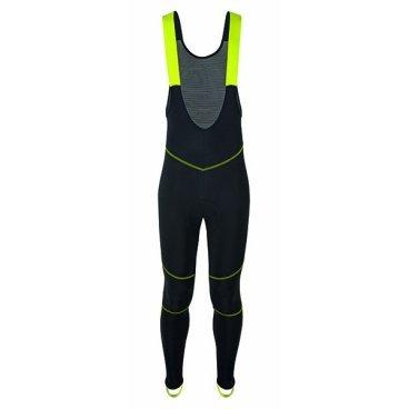 Велорейтузы GSG Redoute Bibtight, неоновый желтый, 07174-06Велоштаны<br>Зимняя нагрудница с брекетами. Анатомический разрез подходит для тела, как вторая кожа.<br>Брекеты выполнены в полипропиленовой сетке на спине, чтобы дать велосипедисту лучшее сочетание эластичности и воздухопроницаемости.<br>Четыре иглы, отражающие плоскую строчку, очень устойчивы и эластичны на всех панелях.<br>На внешней стороне колена имеется отражающая тканевая вставка, а также ярлык GSG на задней части ноги, чтобы обеспечить лучшую видимость и безопасность движения.<br><br>Накладка представляет собой HD ERGONOMIC TRS (перфорированная пена с высокой плотностью).<br>Пена и ткань подушечки являются антибактериальными и аллергическими.<br>Инсайдерская пена перфорирована для быстрой сушки.<br><br><br><br>ТКАНИ: ROUBAIX<br><br>ВЕС: 290гр<br>CHAMOIS: HD ERGONOMIC<br>ТЕМПЕРАТУРА: 0 ° / + 13 °<br>
